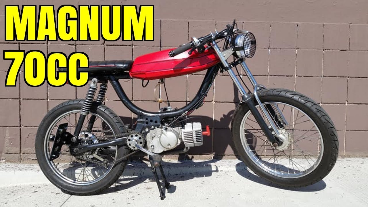 Puch Magnum 70cc Treat kit test run - (US)