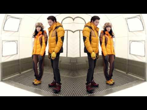 Kim Woo Bin & Lee Na Young MERRELL Making Film for 14fw lookbook
