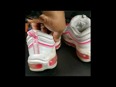 Full Restoration Nike Air Max 97 Pink And White