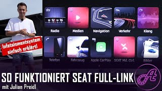SEAT Full-Link Infotainment (deutsch) │ Test │ Review │ Tutorial SEAT Leon, Ibiza, Arona, Ateca