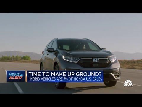 Honda outlines new strategy for electric vehicle push