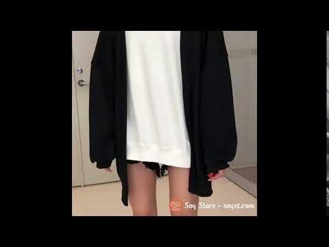 Áo Khoác Cardigan Nữ Thu đông Ulzzang Hàn Quốc Hàng QC Loại 1CL1085