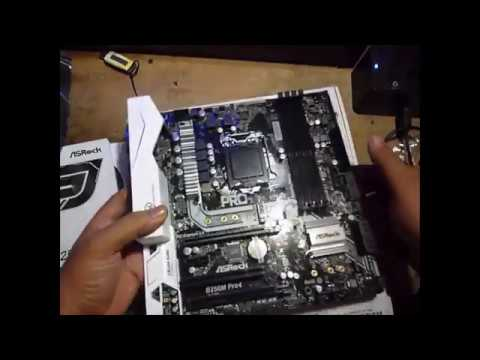 Unboxing Asrock B250M Pro4 for 7th generation