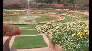 Circular Garden, Mughal Gardens, Rashtrapati Bhavan, New Delhi