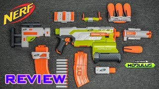 rEVIEW Nerf Modulus Ultimate Customizer Pack  HOLY TACTICS, BATMAN!