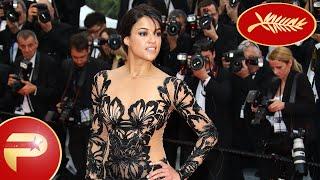Cannes 2015 - Michelle Rodriguez caliente pour la montée des marches du Festival