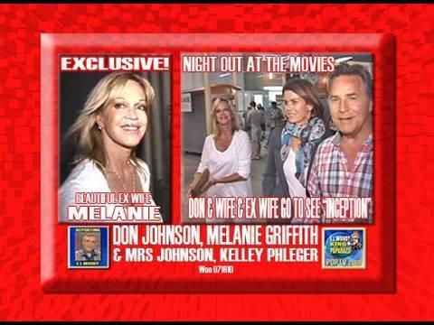 Don Johnson Ex Wife Melanie Griffith & Wife Kelley Pfleger @ INCEPTION