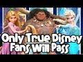 2019 Disney Finish The Lyrics - ALMOST IMPOSSIBLE -ONLY TRUE DISNEY FANS WILL PASS!