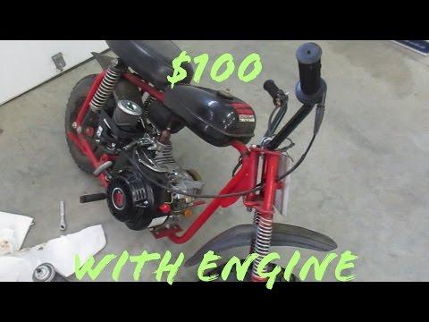 $100 Mini Bike With a Predator 212!!!
