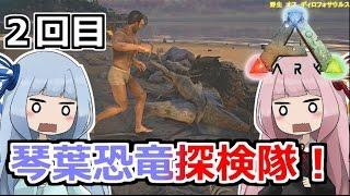 レベル100の恐竜に襲われる茜の元へ丸裸なサバイバーが! 検索メモ:琴葉茜、琴葉葵 twitter:@tmd_n_y.