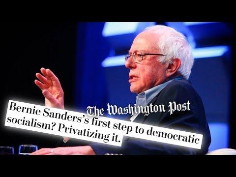 Washington Post Attacks Bernie Sanders' 'Stop BEZOS' Act