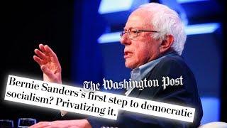 Baixar Washington Post Attacks Bernie Sanders' 'Stop BEZOS' Act
