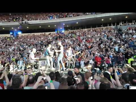Coldplay - In my Place - Glasgow - 7/6/16