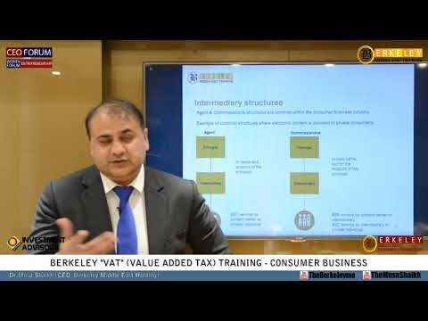VAT Training | UAE Federal Law on Tax Procedures | Consumer Business