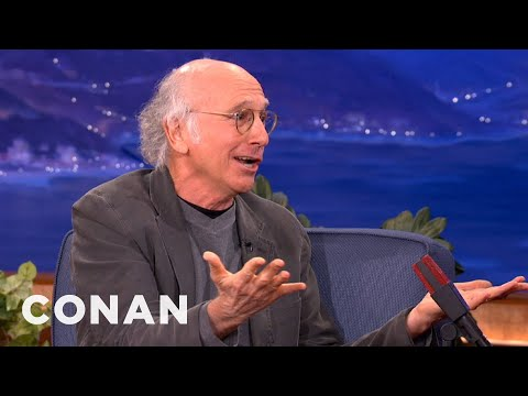 Larry David Explains His Parking Lot Meltdown - CONAN on TBS