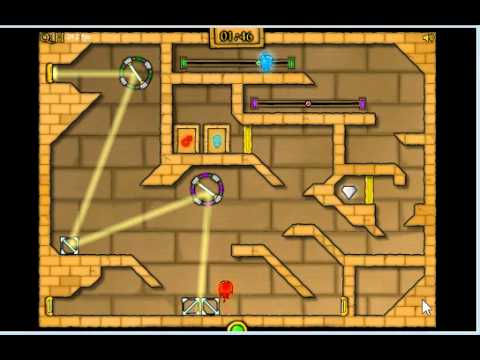 Fireboy And Watergirl 2 In Light Temple Cool Math Level 16