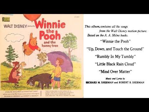 Winnie the Pooh and the Honey Tree 1965 Disneyland Record