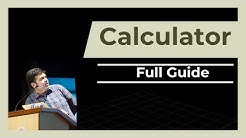 Calculator- Full Guide