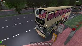 (Roblox) KMB 284 City - Ruta de conducción 284