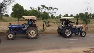 Farmtrac 60 vs Farmtrac 60 AK47 | Simple tractor tochan