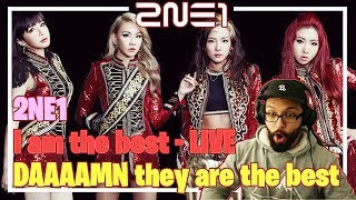 2NE1 - I am the best, OMG so cool! **Live performance reaction**
