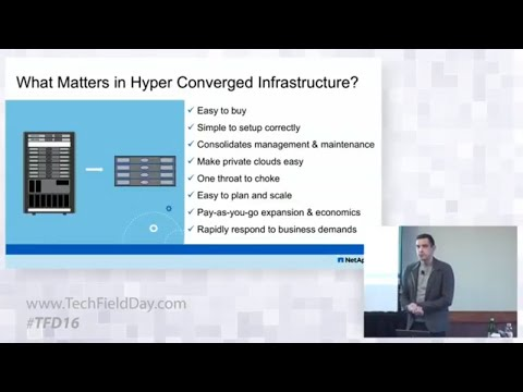 NetApp Comparing HCI Architectures with Adam Carter