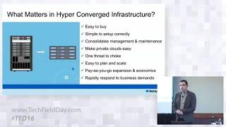 NetApp Comparing HCI Architectures with Adam Carter