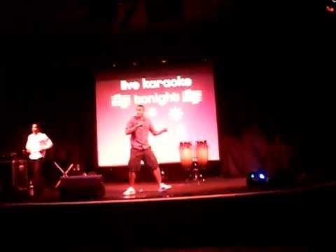 Karaoke Vanilla Ice!!!