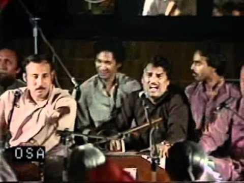 Nusrat Fateh Ali Khan maye ki karan mein - Ranjha te mera part 1