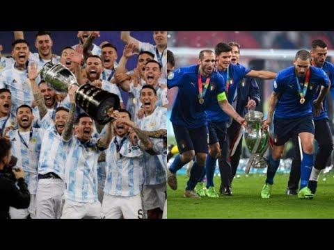 Se jugaría el partido entre Italia y Argentina en el estadio de Nápoles y sería la Copa Maradona