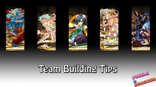 Puzzle and Dragons - Team Building Tips