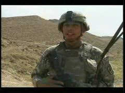 Crazy Horse Soldiers Search for Enemy in Afghanistan