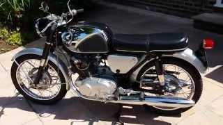 HONDA CB72 1963 RESTORED