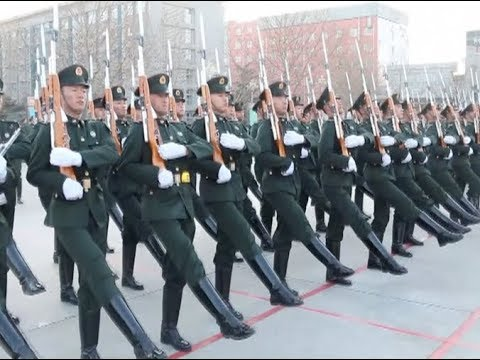 How to Be A Member of China's PLA's Guard of Honor?