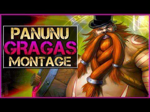 Panunu Gragas Main Montage - Best Gragas Plays | League Of Legends