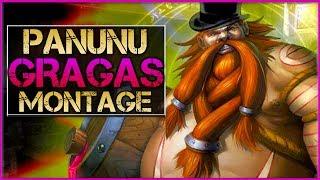 "Panunu ""Gragas Main"" Montage - Best Gragas Plays | League Of Legends"