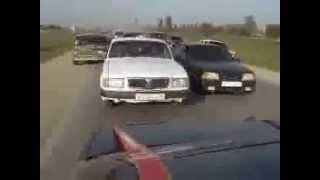 чеченская свадьба скачки на машинах