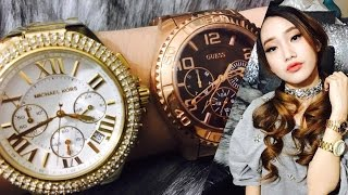 Wrist Watches Review: MICHAEL KORS and GUESS