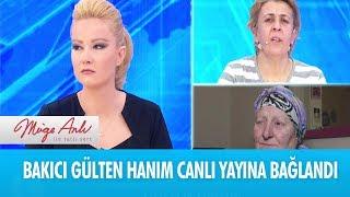 Bakıcı Gülten hanım canlı yayına bağlandı - Müge Anlı ile Tatlı Sert  7 Aralık 2018