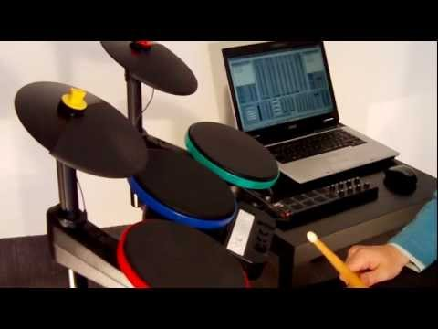 Arduino-Based MIDI Drum System Make