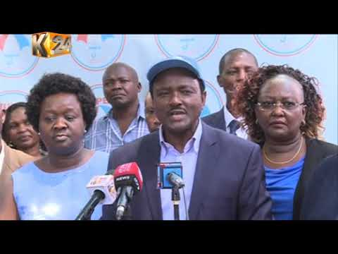 Kalonzo insists on dialogue, urge President Kenyatta to open the door for the talks