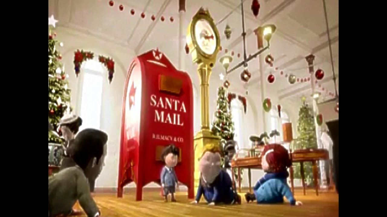 Pinky And The Brain Christmas Letter.Macy S Christmas Letters To Santa To Believe 2011 Tv Commercial Hd