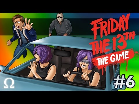 CAR TROUBLES, JASON LOVES NERDY GIRLS! | Friday the 13th The Game #6 Ft. H2O Delirious