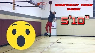 Professor Vertical Jump Workout Instantly Tries DUNK