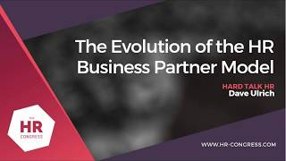 The Evolution of the HR Business Partner Model