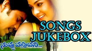Nuvvu Vasthavani (నువ్వు వస్తావని) Telugu Movie Full Songs | Jukebox | Nagarjuna, Simran