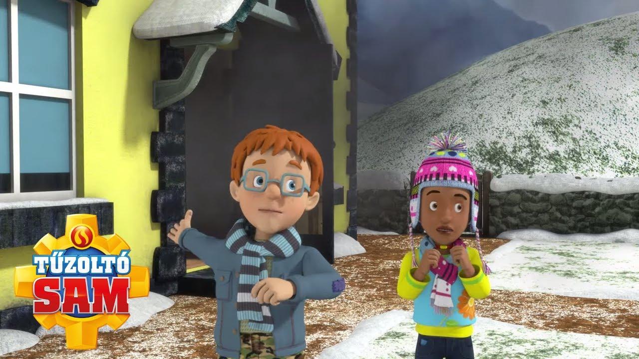 Tűzoltó Sam | Téli mentés!  | összeállítás | Rajzfilmek gyerekeknek