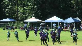 Mighty Mites part1 WOLVES vs HORNETS 2012