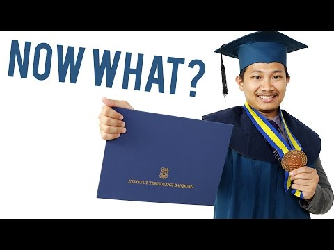 So I graduated, now what?