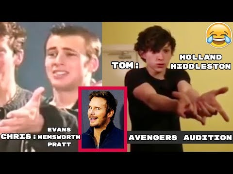 Avengers 4: Endgame Cast Hilarious Auditions & Funny Stories - Try Not To laugh 2018